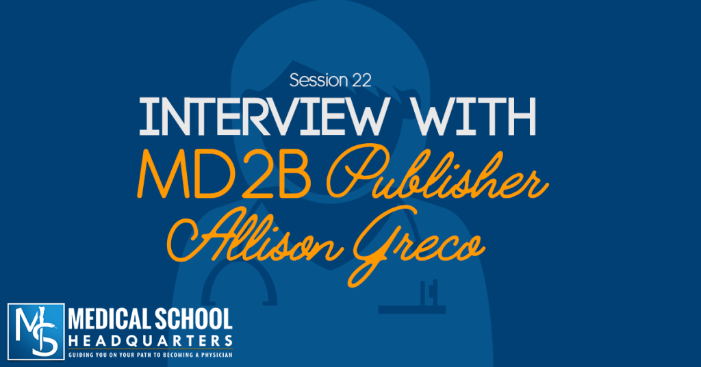 Interview with Medical Student Blogger Allison Greco